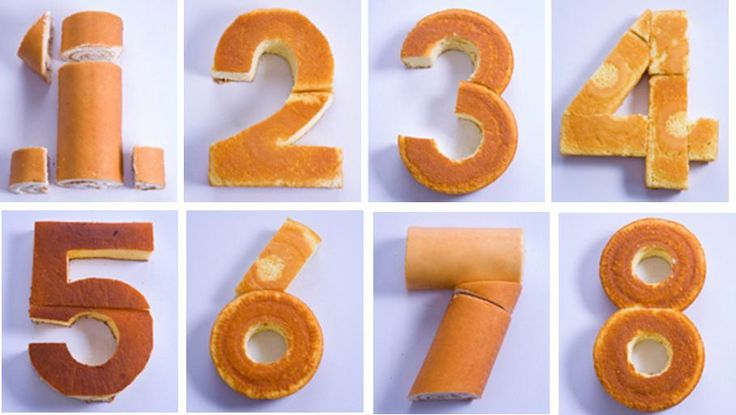 how to make number 6 shaped cakes | tutorial on how to make any number from a cake. Perfect birthday cake ...