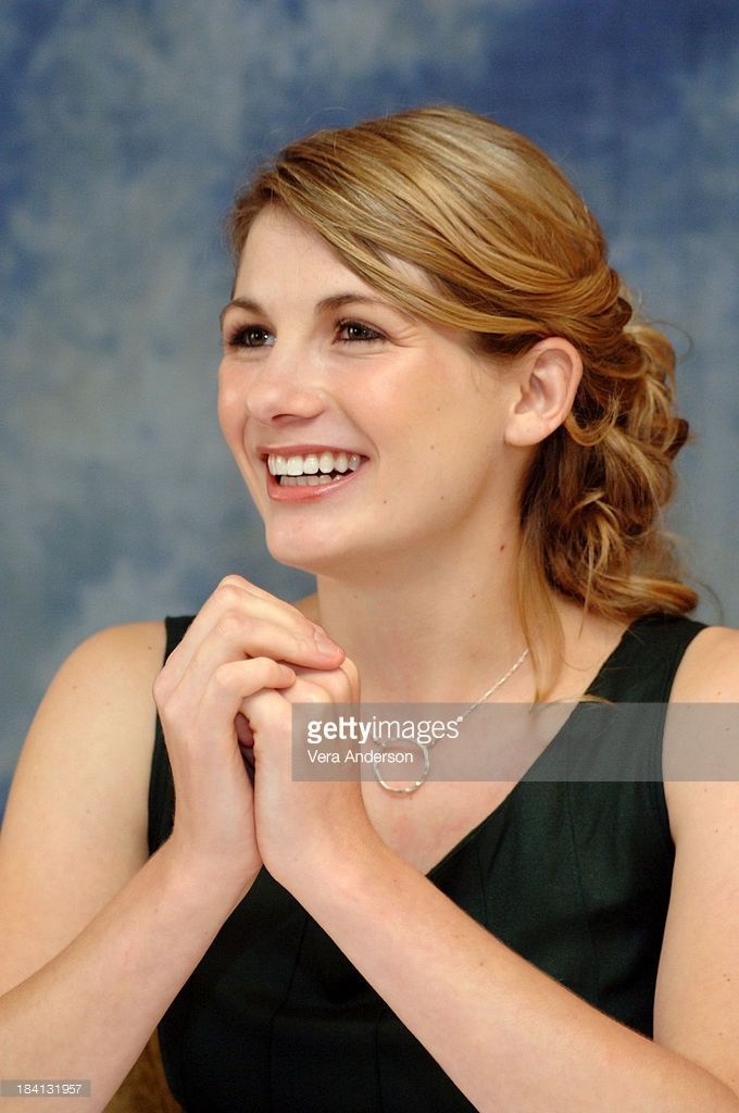 Jodie Whittaker during 'Venus' Press Conference with Jodie Whittaker at Sutton Place Hotel in Toronto, Canada.