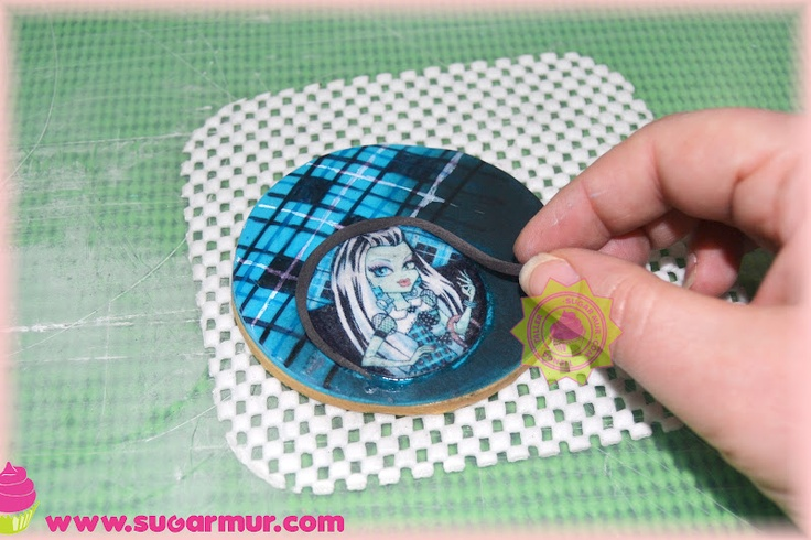 Sugar Mur tutorial galletas monster High