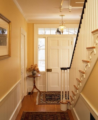 Front Foyer Staircase : Front door design pictures remodel decor and ideas i