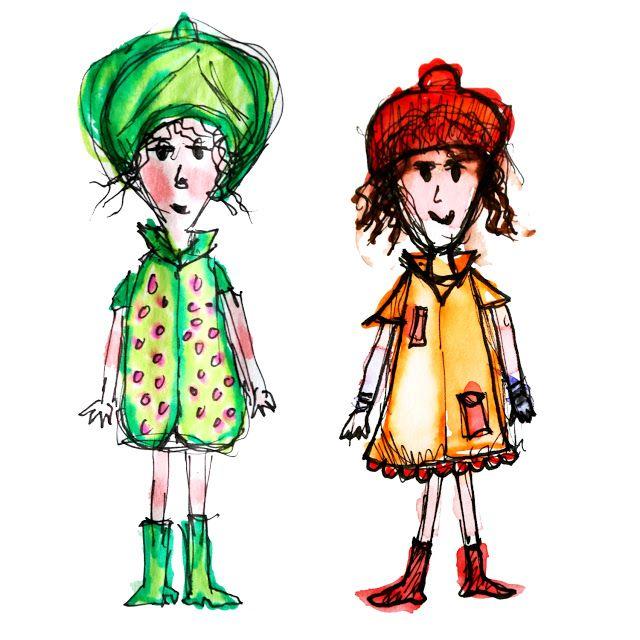 Schetsjes van twee figuurtjes | Kim Broersma