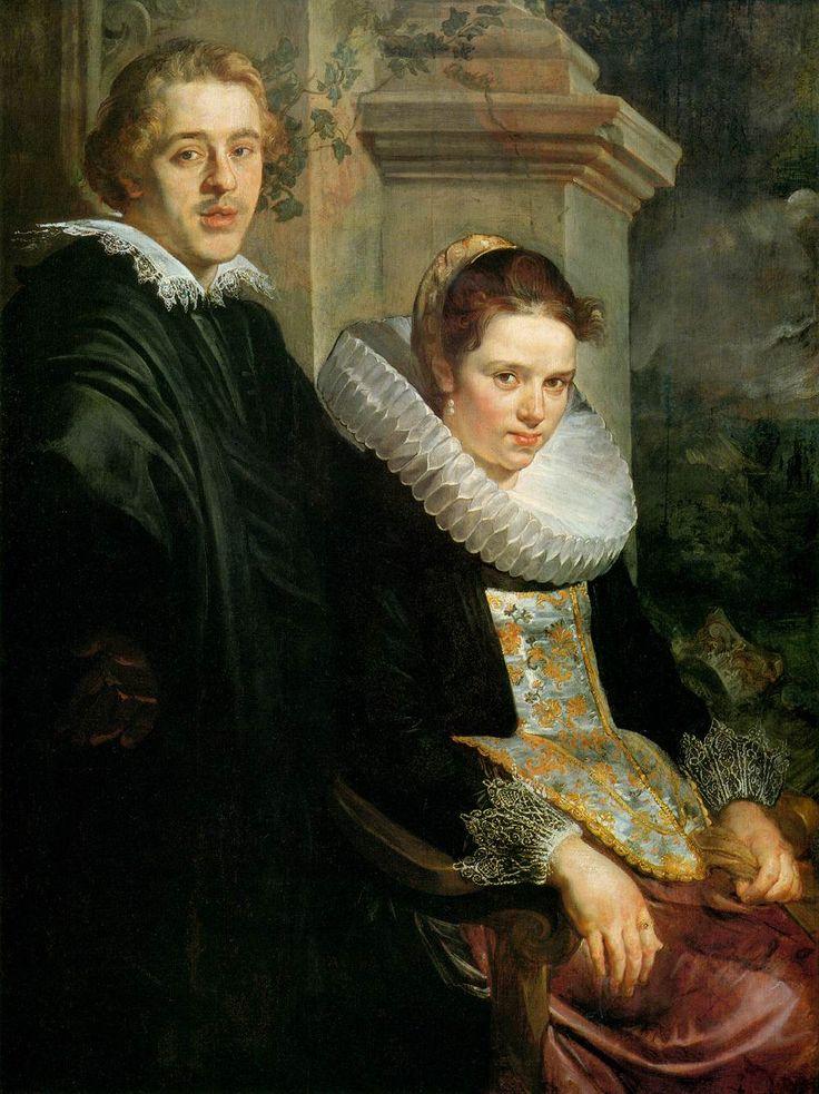 Portrait of a Young Married Couple - Jacob Jordaens