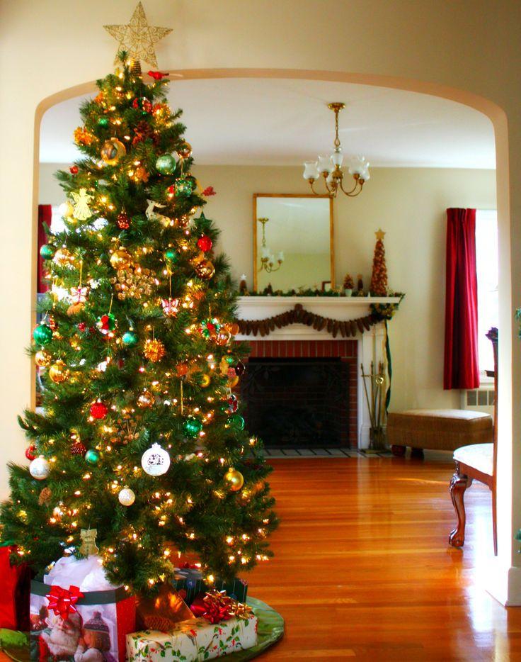 25+ ideias exclusivas de Christmas tree tumblr no Pinterest - beautiful decorated christmas trees