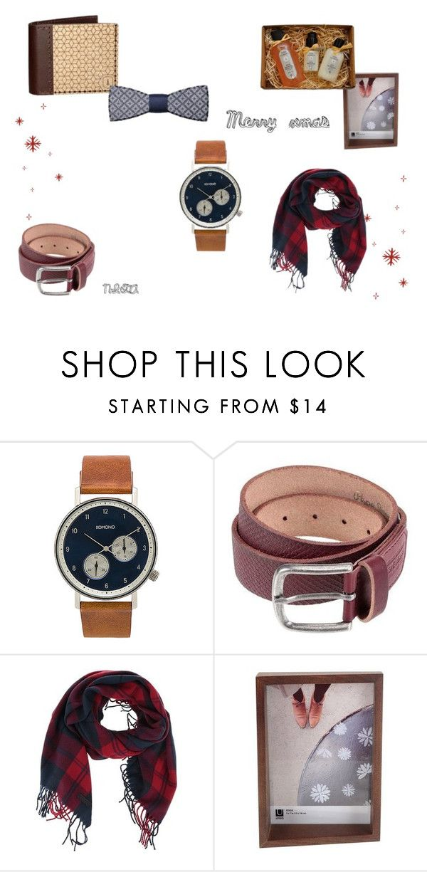 """Gift guide 2"" by blondavapotvora on Polyvore featuring Komono, men's fashion and menswear"