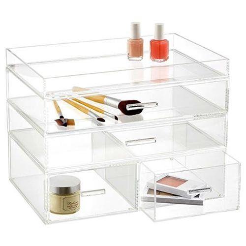 Best Makeup Organization Images On Pinterest Makeup - Container store makeup organizer