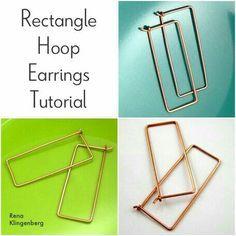 Rectangle hoops tutorial