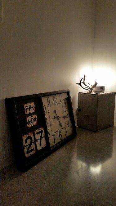 Calender clock
