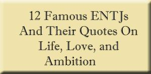 ENTJ Featured Image