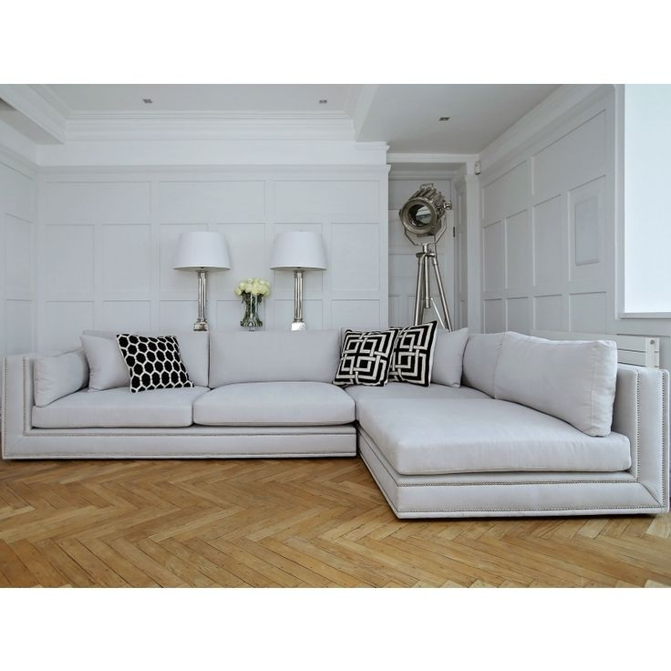 20 Best Collection Of White Leather Corner Sofa: Best 25+ Corner Sofa Ideas On Pinterest
