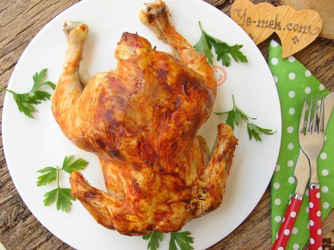 Fırında Bütün Tavuk Kızartması nasıl yapılır? Kolayca yapacağınız Fırında Bütün Tavuk Kızartması tarifini adım adım RESİMLİ olarak anlattık. Eminiz ki Fırında B