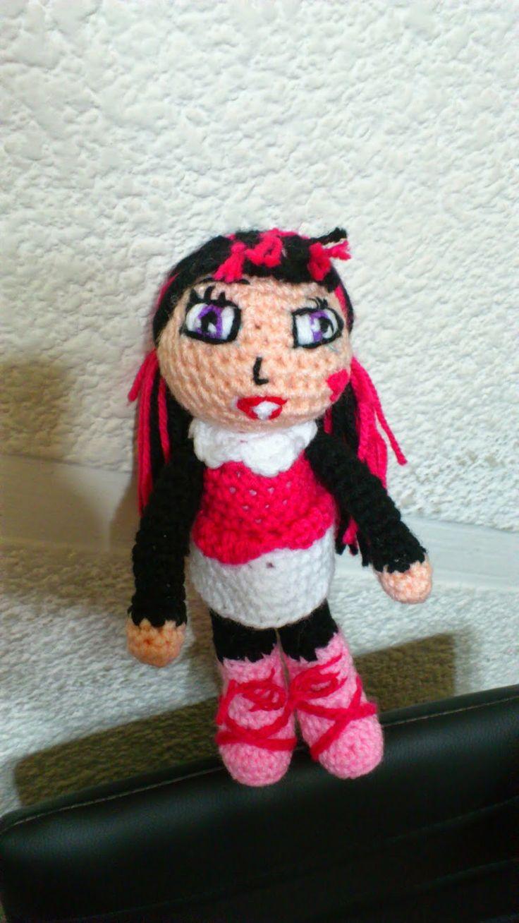 Patron Amigurumi Monster High : Mas de 1000 imagenes sobre amigurumi en Pinterest ...