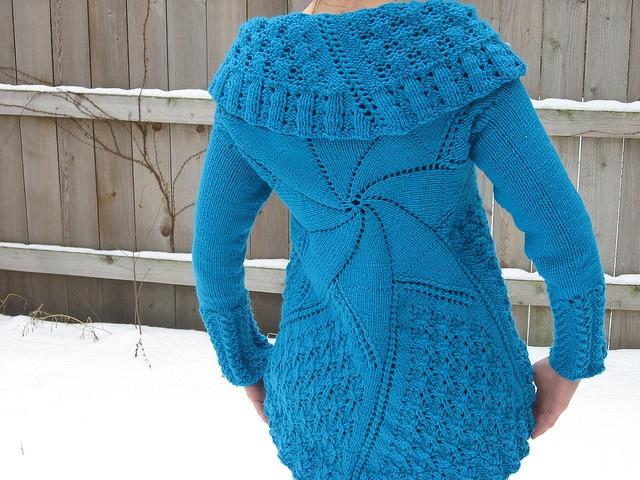 Pinwheel Sweater by blakdove on Ravelry Crafts ...