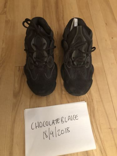 f6120630428 Adidas Yeezy 500 V2 UK 8 US 9 Boost Consortium White 350 Black Desert Rat