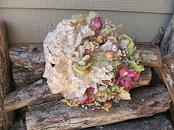 Sculpture Elegant Paper Mache Mixed Media by margewickliffe, $85.00