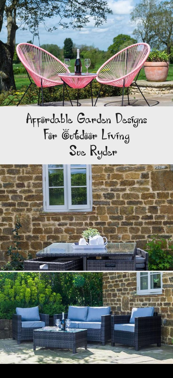 Affordable Garden Designs For Outdoor Living - Sue Ryder ... on Ab And Outdoor Living id=91117