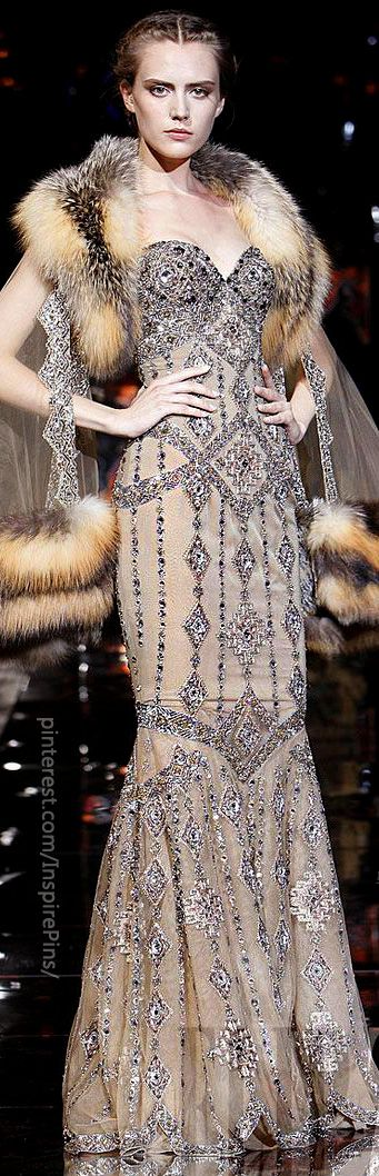 Zuhair Murad - Haute Couture - Fall-winter 2008-2009. Fantasy wedding dress for my fantasy wedding which will probably never happen.