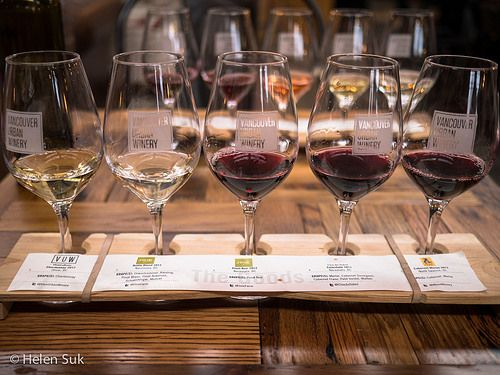The Vancouver Urban Winery is a great place to celebrate the weekend or even a special event. I recommend trying their wine tasting flights.