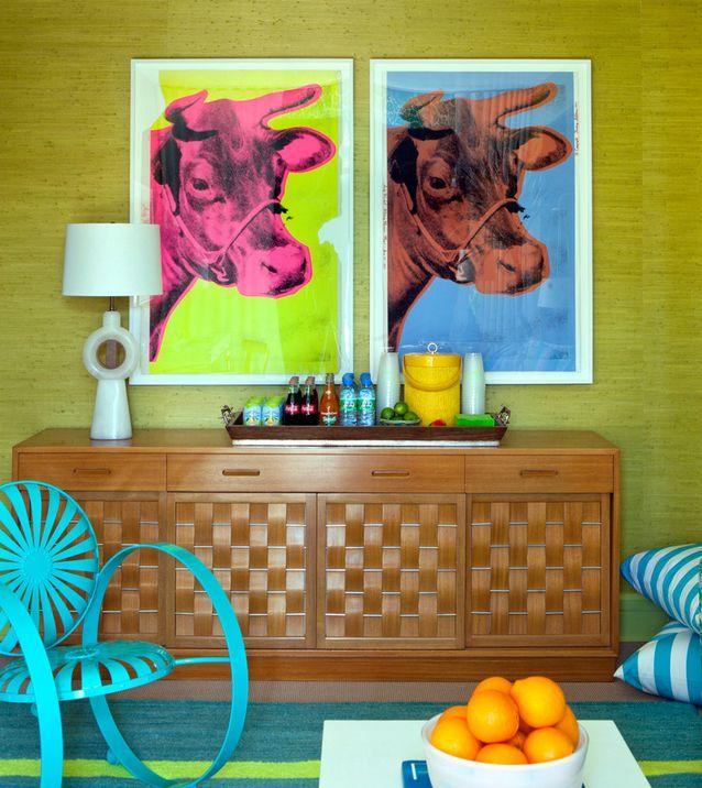 Интерьер в стиле поп-арт: 5 особенностей   Sweet home