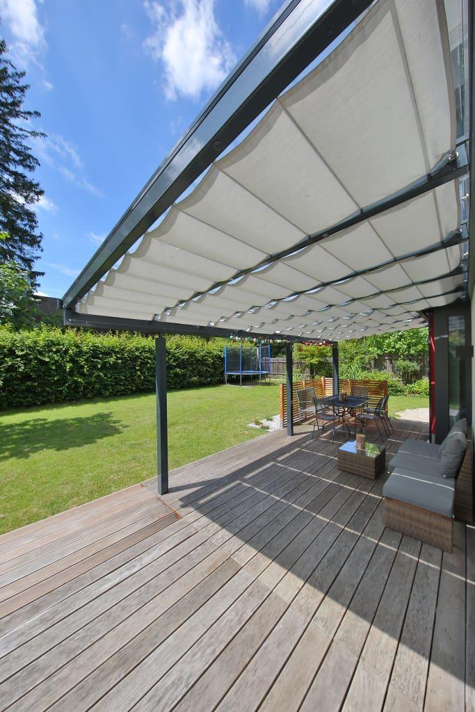 Toldos Para Terraza O Pergola Modern Garden By Toldos Spannmaxxl