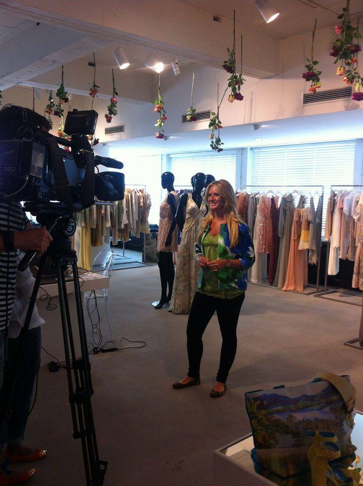 COMPAGNIA ITALIANA on shownews! Met Chantal Bles in de nieuwe collectie!