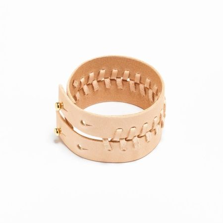 YVY |Double laced bracelet