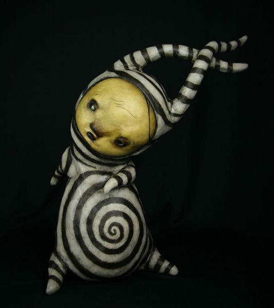 The curious art from Scott Radke...one day I'll own one of these.