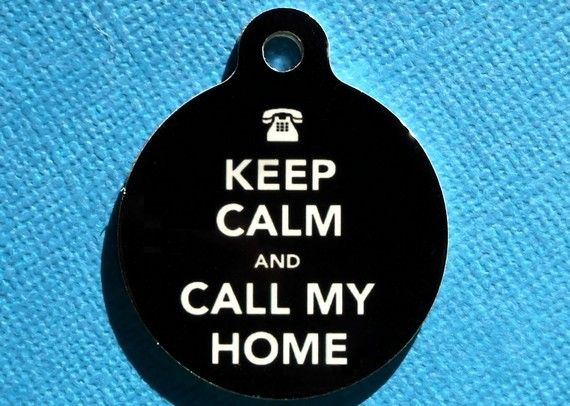 Keep calm cat or dog tag for collarDogs Id Tags, Dog Tags, Dogs Collars, Baby Needs, Keepcalm, Calm Cat, Keep Calm, Bulldogs Pets, Dogs Tags For Collars