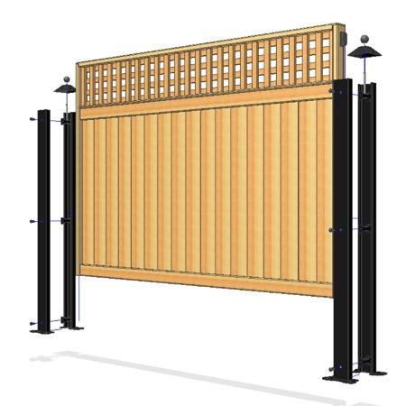 89 Best Fence Panels Images On Pinterest Garden Fences
