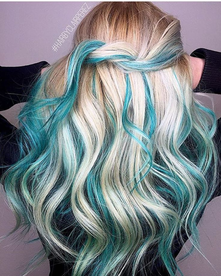 Pin On Blue Hair Inspiration