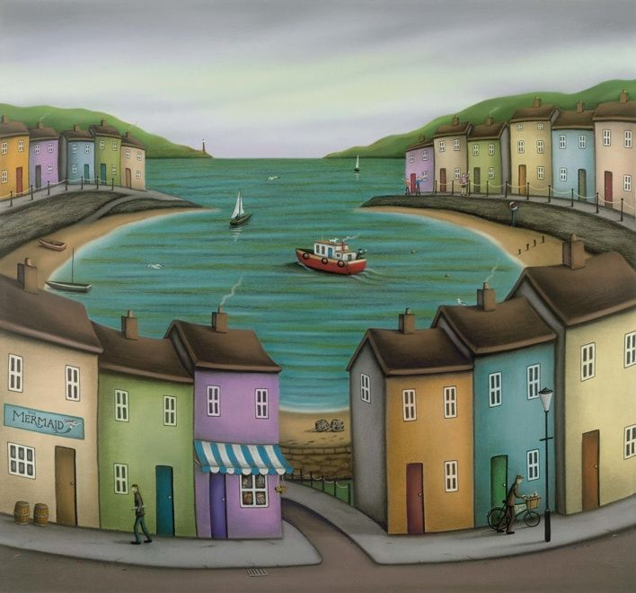 I love Paul Hortons work - makes me smile