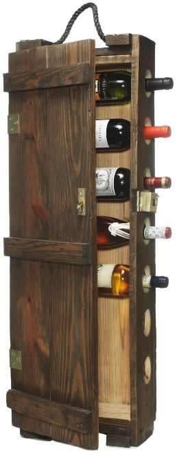 Long Wood Ammo Crate Turned Into A Wine Cabinet Sams