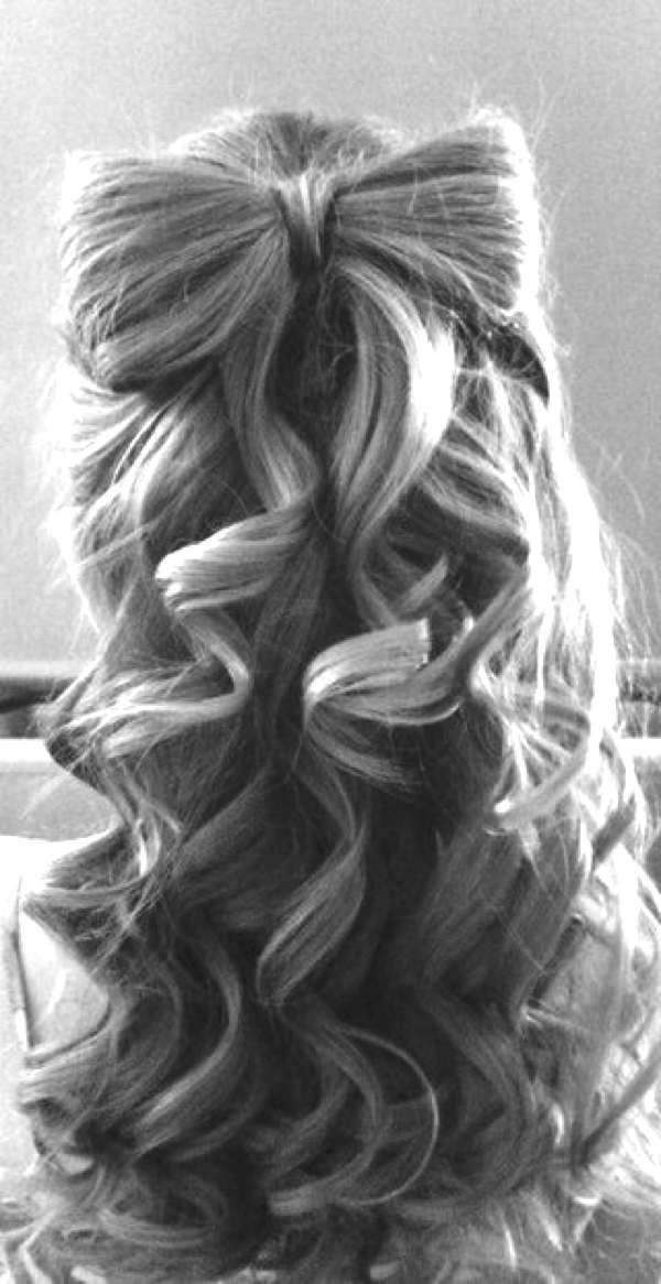 Hairstyles For Curly Hair Tied Up : Best 25 junior bridesmaid hairstyles ideas on pinterest curly