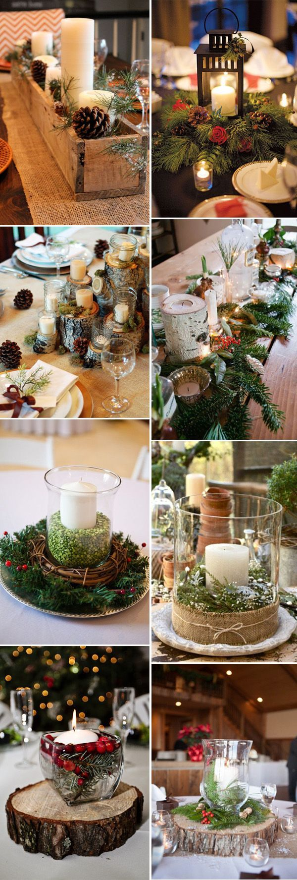 winter wonderland wedding table ideas%0A    Wonderful Ideas For A Cozy and Fancy Winter Wedding  Christmas  Centerpieces