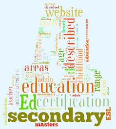 Campus-based and Online Education Programs:  The programs described on this website are divided into several areas according to age range: early childhood eucation, elementary education, secondary education, post-secondary education and adult education.