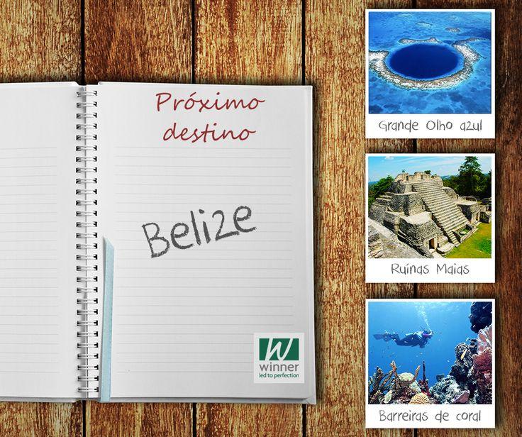 Visite: as ruínas maias, a ponte de Balanço em Belize City, o grande olho azul - o local mais famoso de Belize, perfeito para a prática do mergulho - o santuário dos animais selvagens, o zoológico de Belize, o Parque Nacional Guanacaste, a floresta tropical, o Monumento Natural de Recife de Corais Half Moon, o Parque Nacional do Cenote Azul, o Monumento Nacional Actun Tunichil Muknal e a montanha Pine Ridge.