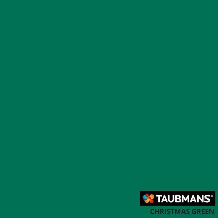 #Taubmanscolour #christmasgreen