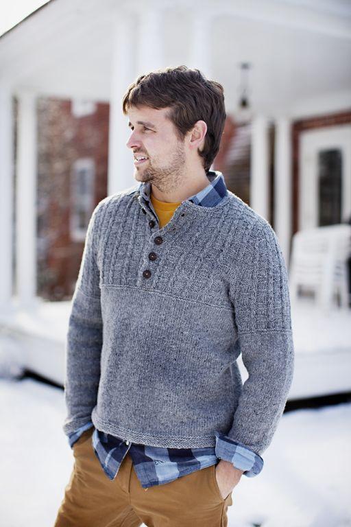 Modèle de tricot - Brooklyn Tweed Pull GUSTON