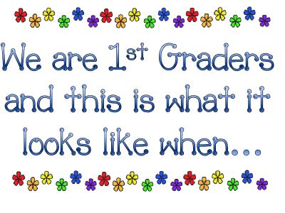 First Grade Expectations in Pictures: Grade Expectations, School Year, Pictures, School Ideas, Fun, Classroom Management, Classroom Ideas, First Grade, 1St Grade