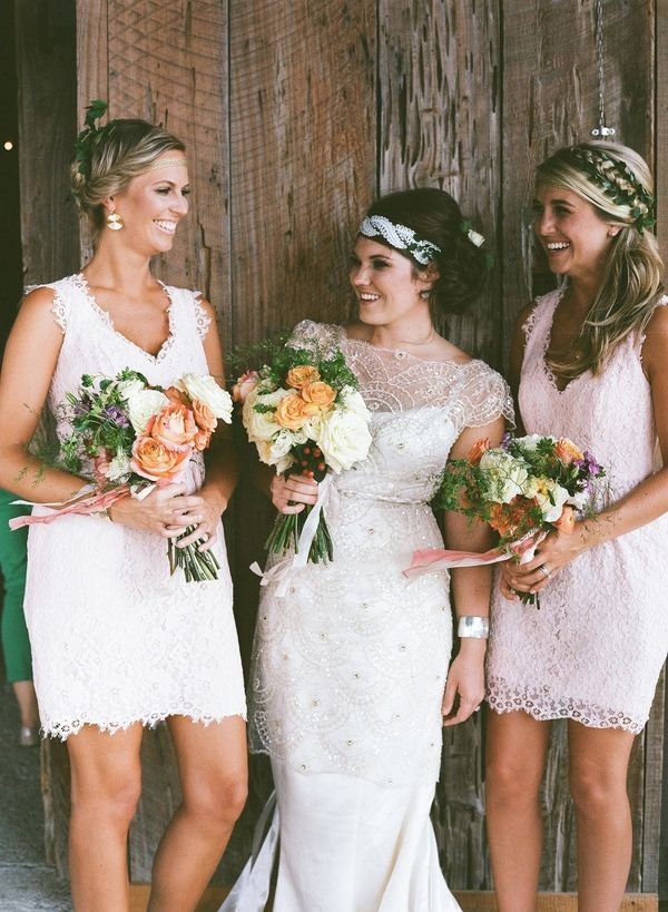 Elegant Bohemian Bridesmaids | Nicole Caudle Photography | Vintage Southern Charm at The Not Wedding Charleston!