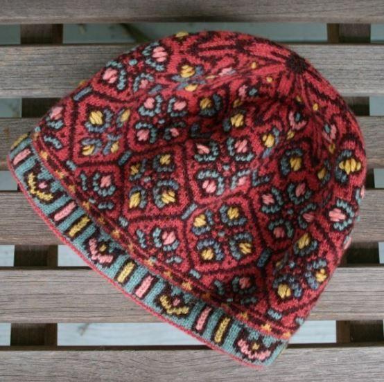 Allamanda Hat Knitting Pattern PDF