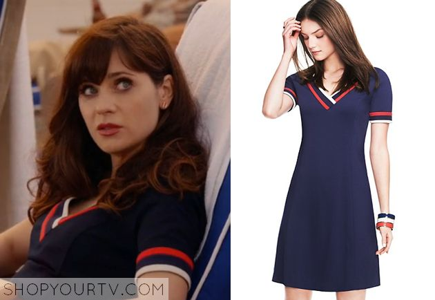 I ordered this one! Can't wait to wear it. Jess Day (Zooey Deschanel) wears this…