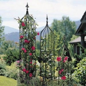 Delightful Beautiful Garden Trellis