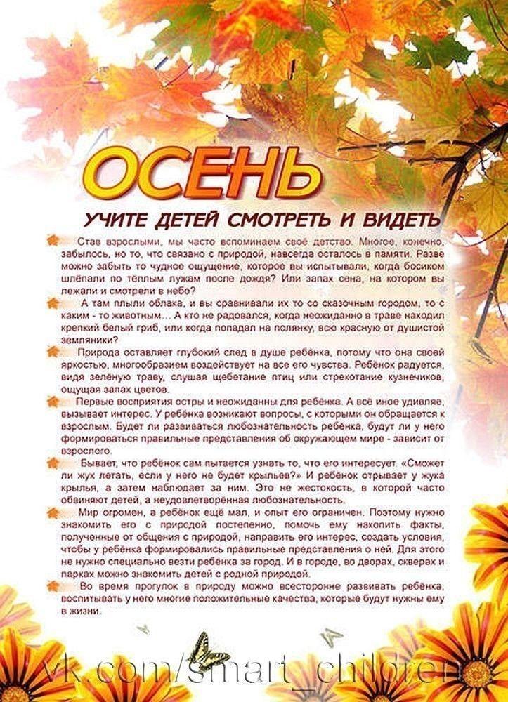 консультации про осень в картинках книгу рисуем