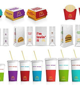 McDonald de embalaje