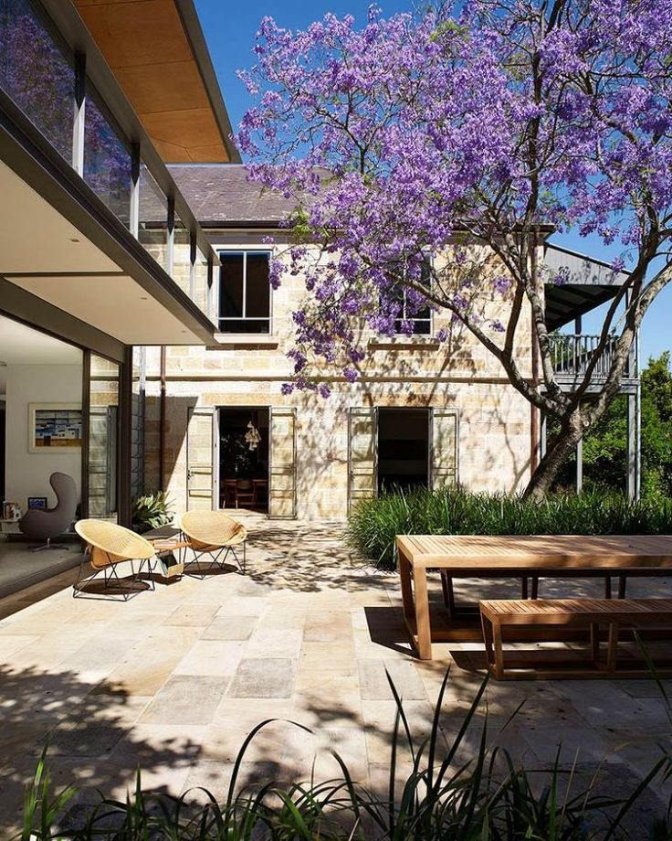 Cate Blanchett & Andrew Upton's Classic Sandstone Sydney Home