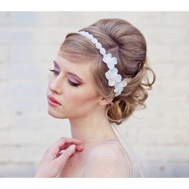 pretty headband and hair