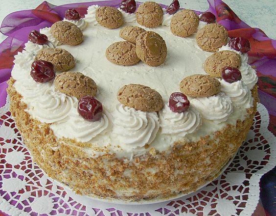 Amarena - Kirsch - Torte (Rezept mit Bild) von Ela_Back | Chefkoch.de
