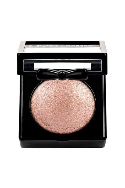 """59 Drugstore Products Hollywood's Top Makeup Artists Love #refinery29  http://www.refinery29.com/2015/12/99854/celebrity-makeup-artist-best-drugstore-makeup-2015#slide-39  The Expert: Makeup artist Tamah KrinskyClients: Alexa Chung, Allison Williams""""Rose gold is universally flattering, and adds an instant festive feeling to your makeup! I love Nyx Baked Shadow in Ambrosia because you can apply it lightly as a wash or layer i..."""