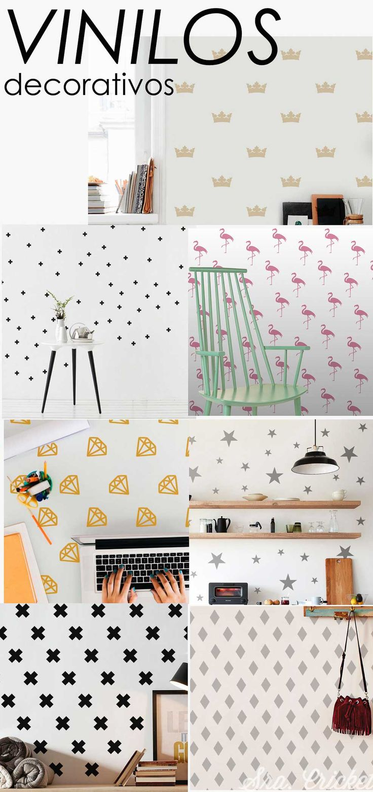 vinilos decorativos de pared para decorar paredes armarios objetos incluso hacer photocall