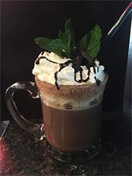 "British Arms Pub Barrie - ""Cozy 5 Corners Cabernet Hot Chocolate"" Finalists in the 2017 Barrie ""Winter Warm Up"" Cocktail Challenge"